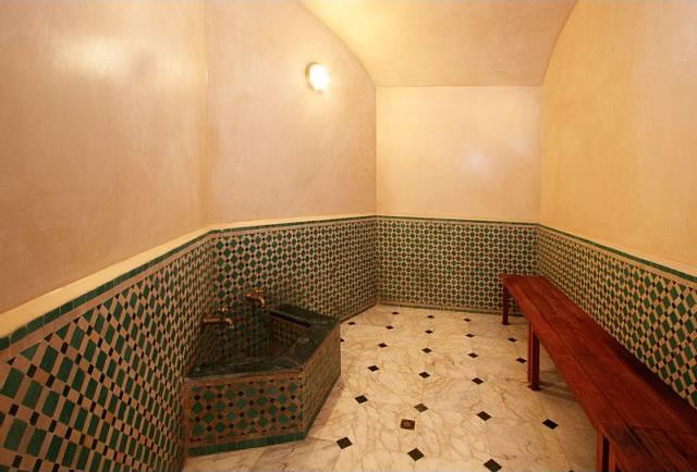 Le hammam et le sauna du riad misbah for Hammam et sauna